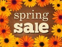 Знак продажи весны Стоковая Фотография RF