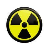 знак радиации 3d стоковое фото rf