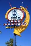 Знак района искусств Лас-Вегас Стоковое Изображение