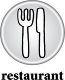 знак ресторана стоковое изображение rf