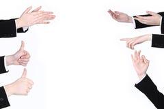 Знак руки Стоковые Фотографии RF