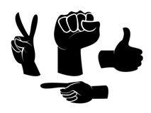 Знак руки Стоковая Фотография RF