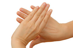 Знак руки Стоковое Изображение