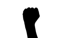 Знак руки Biff Стоковое Фото
