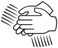 Знак рукоплескания иллюстрация вектора