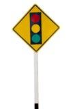 Знак светофора Стоковые Изображения