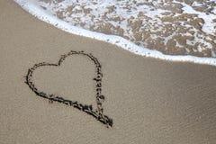 Знак сердца Стоковое Изображение RF