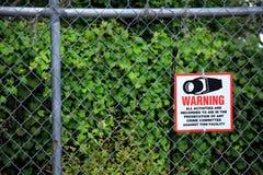 Знак системы безопасности стоковая фотография