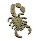 Знак скорпиона Стоковое Изображение