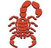 Знак скорпиона Стоковые Фотографии RF