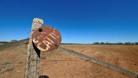 Знак скотин Стоковые Фотографии RF