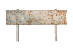 Знак старых и grunge винтажный металла стоковая фотография rf