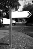 знак столба Стоковая Фотография RF