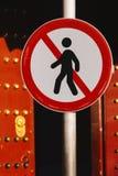 Знак стопа дороги Стоковые Изображения RF