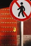 Знак стопа дороги Стоковые Изображения