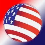 знак США круга иллюстрация вектора