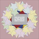 Знак с звездами Стоковые Изображения RF