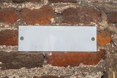 Знак с предупреждением Стоковое фото RF