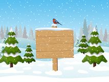 Знак с Рождеством Христовым деревянный стоковое изображение