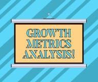 Знак текста показывая анализ метрической системы мер роста Схематическое фото оценивая компанию s портативная машинка историческо иллюстрация вектора