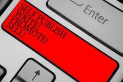 Знак текста показывая собственную личность опубликовывает пишет повышает надувательство Ключ схематической клавиатуры публикуемос стоковая фотография rf