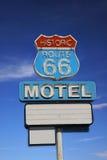 знак трассы 66 дорог Стоковая Фотография