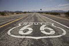 знак 66 трасс Стоковое Изображение RF