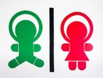 Знак туалета малыша Стоковое Фото