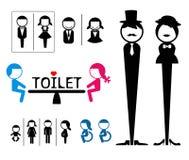 Знак туалета  иллюстрация штока