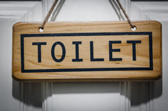 Знак туалета Стоковое Изображение RF