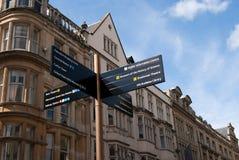 Знак улицы Оксфорд стоковое фото rf