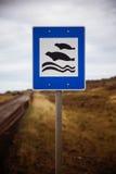 Знак уплотнения Стоковая Фотография