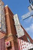 Знак улицы Венеции Стоковые Фотографии RF