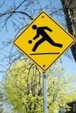 Знак улицы спортивной площадки Стоковые Фото