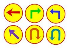 Знак уличного движения значка Стоковые Фото