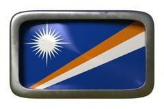 Знак флага Маршалловых Островов иллюстрация вектора