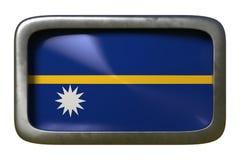Знак флага Науру иллюстрация штока