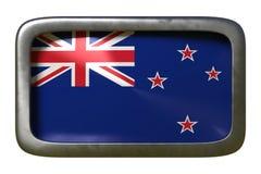 Знак флага Новой Зеландии иллюстрация вектора