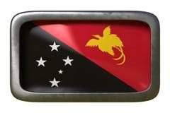 Знак флага Папуаой-Нов Гвинеи иллюстрация вектора