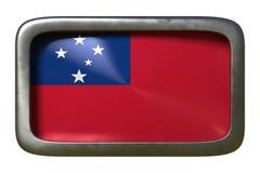 Знак флага Самоа иллюстрация вектора