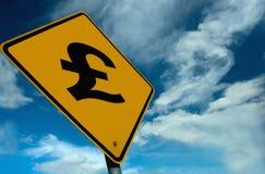 знак фунта Стоковое Изображение