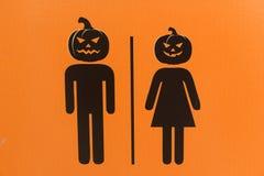 Знак хеллоуина Стоковая Фотография