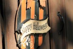 Знак хеллоуина Стоковое Фото