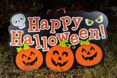 Знак хеллоуина Стоковая Фотография RF