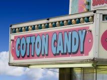 знак хлопка конфеты Стоковое Изображение
