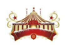 Знак цирка рождества стоковое фото rf