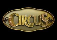 Знак цирка яркого блеска Стоковые Фото