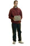 знак человека удерживания Стоковое фото RF