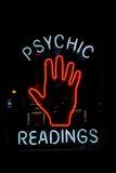 Знак чтения ладони Стоковая Фотография