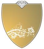 знак ювелира золота Стоковые Фото